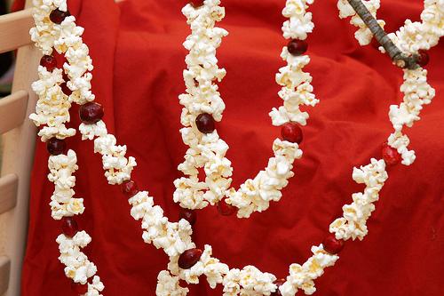 Dekorasi Popcorn